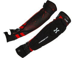 HK Army Crash Elbow Pads - Black/Red