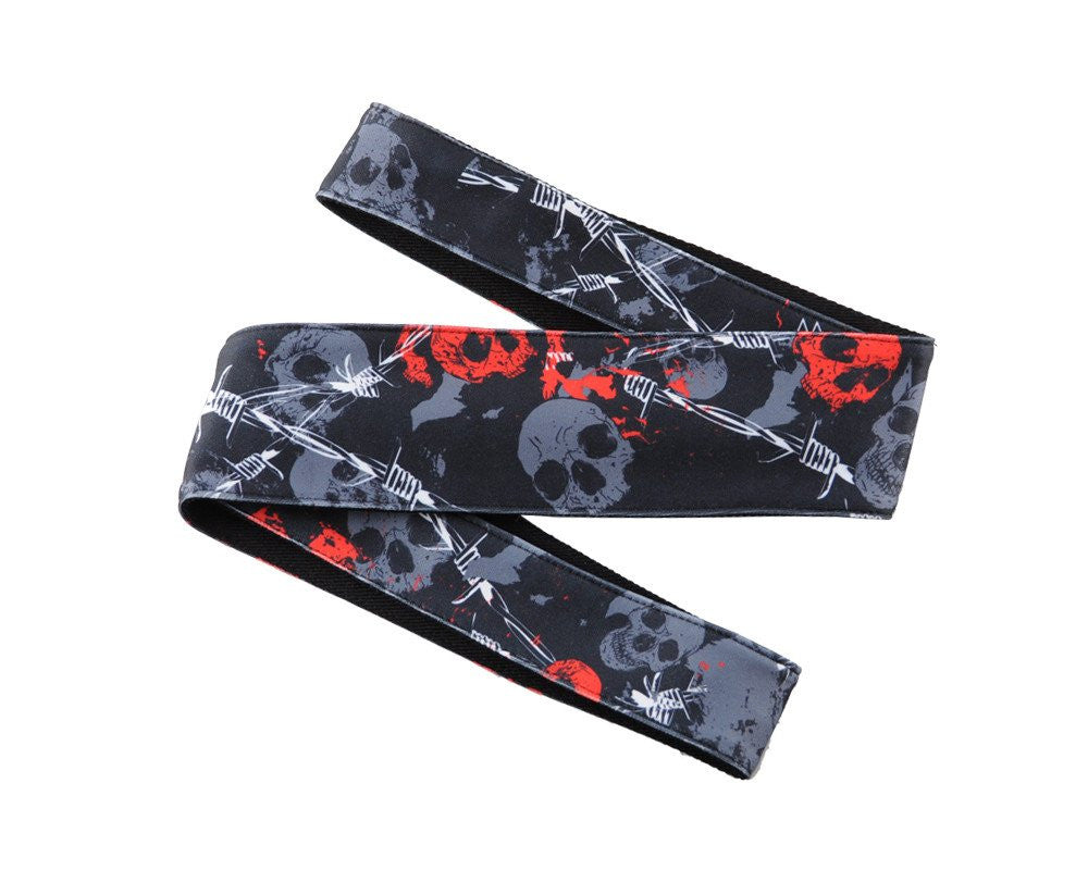 HK Army Headband - Skull Wire