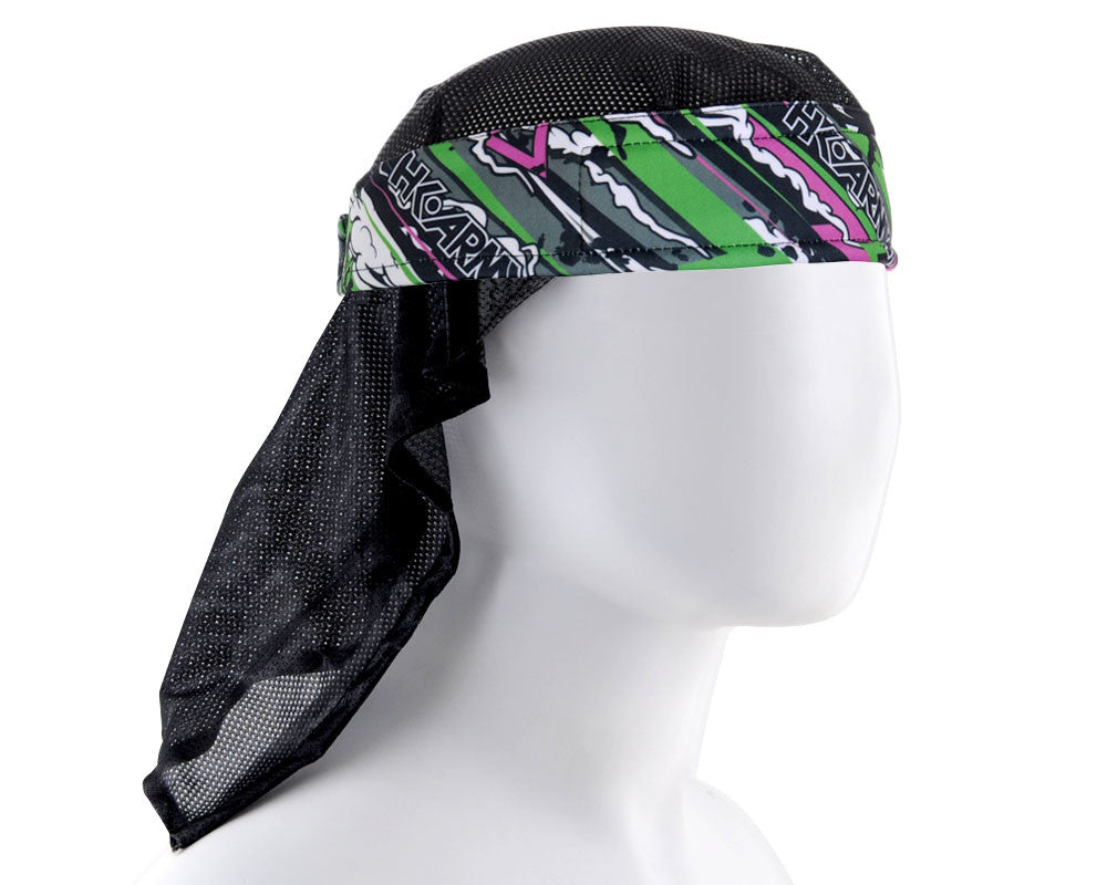 HK Army Headwrap - Burn Neon