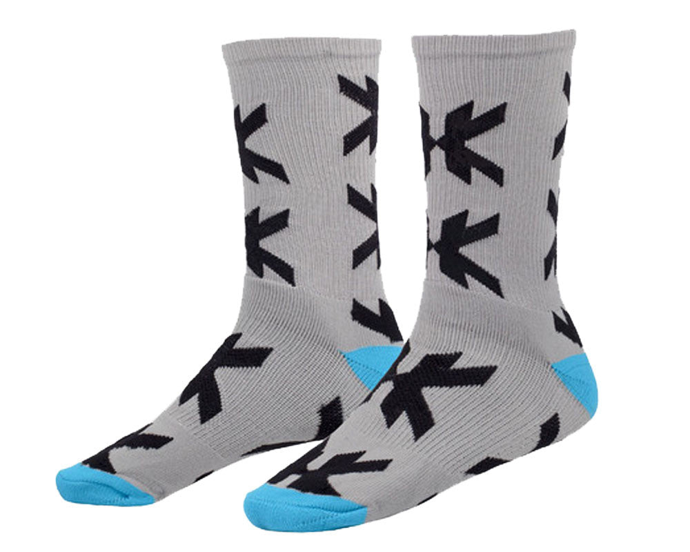 HK Army Optic Speed Socks - Grey/Teal