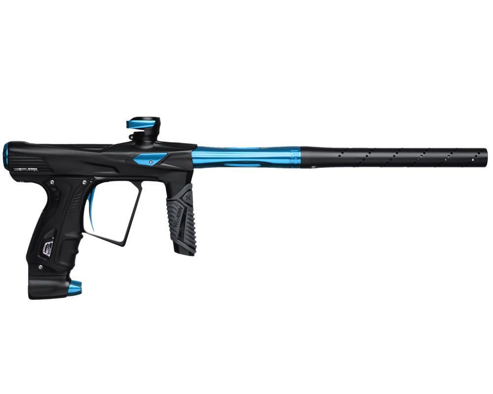 HK Army Shocker RSX Paintball Gun - Dust Black/Blue
