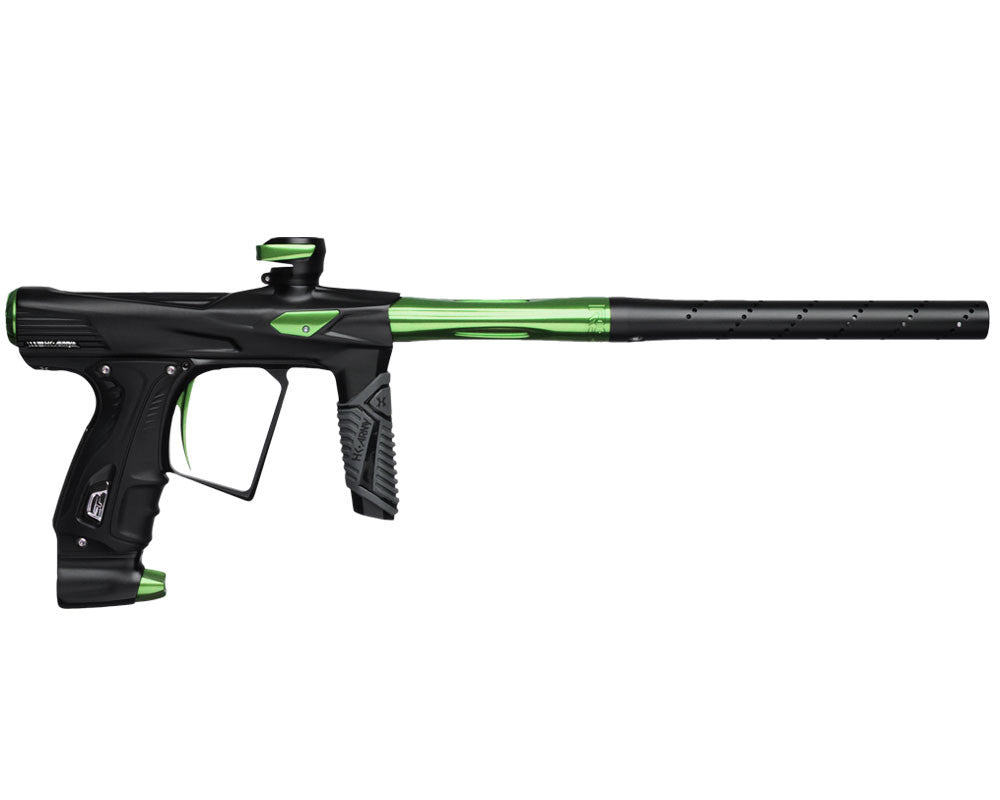 HK Army Shocker RSX Paintball Gun - Dust Black/Green