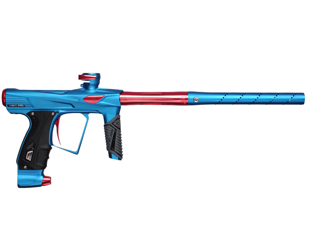 HK Army Shocker RSX Paintball Gun - Dust Blue/Red