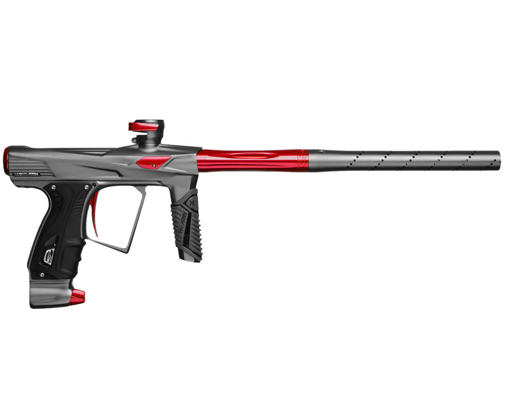 HK Army Shocker RSX Paintball Gun - Dust Pewter/Red