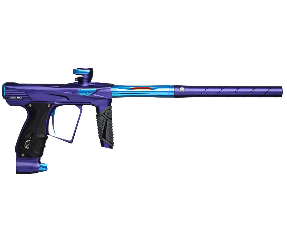 HK Army Shocker RSX Paintball Gun - Dust Purple/Blue