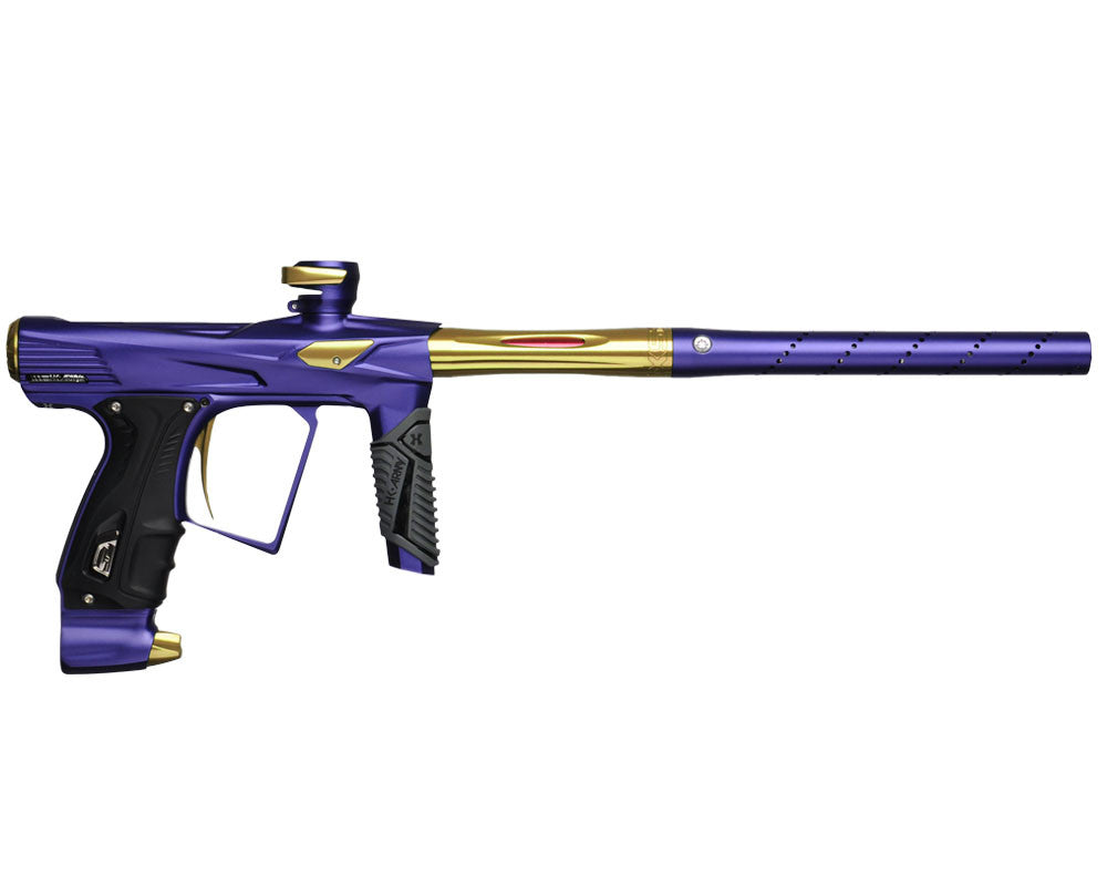 HK Army Shocker RSX Paintball Gun - Dust Purple/Gold