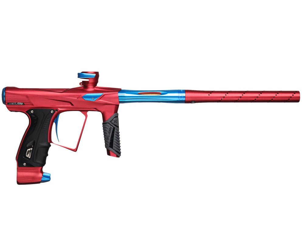 HK Army Shocker RSX Paintball Gun - Dust Red/Blue