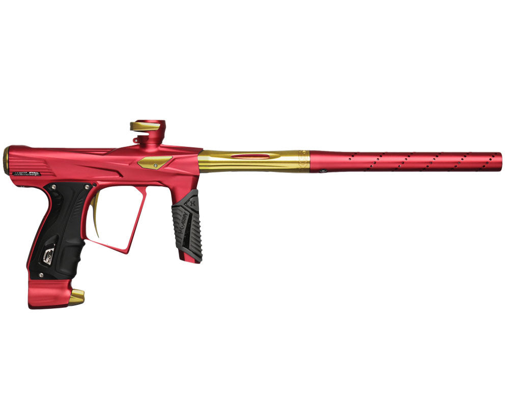 HK Army Shocker RSX Paintball Gun - Dust Red/Gold