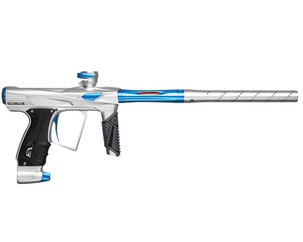 HK Army Shocker RSX Paintball Gun - Dust White/Blue