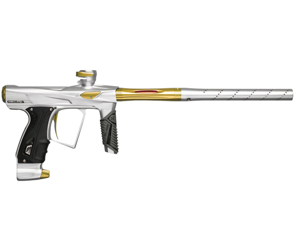 HK Army Shocker RSX Paintball Gun - Dust White/Gold