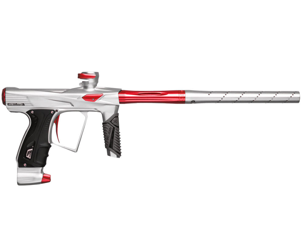 HK Army Shocker RSX Paintball Gun - Dust White/Red