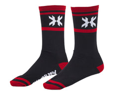 HK Army Tracer Speed Socks - Black/Red