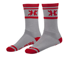 HK Army Tracer Speed Socks - Grey/Red