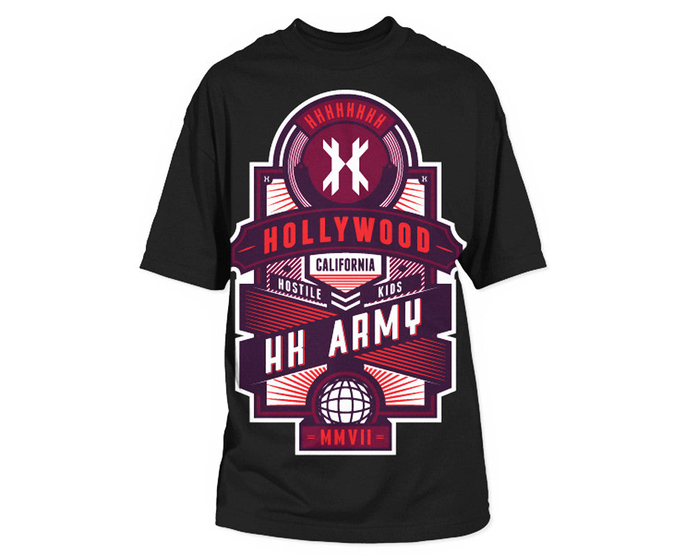 HK Army Rise Paintball T-Shirt - Black