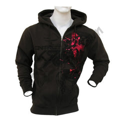 Contract Killer Sisco Zip Up Hoodie - Brown