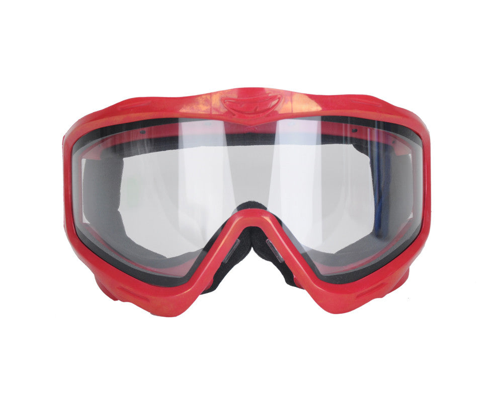 Jt EPS Goggle Mask Frame w/ Clear Lens - Red