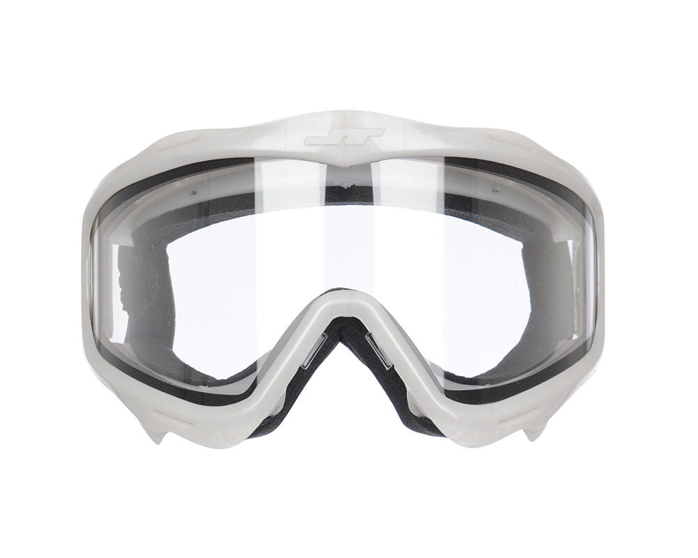 JT Goggle Mask Frame w/ Clear Lens - Grey