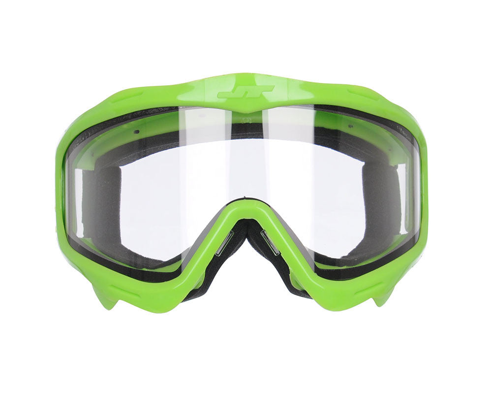 JT Goggle Mask Frame w/ Clear Lens - Lime