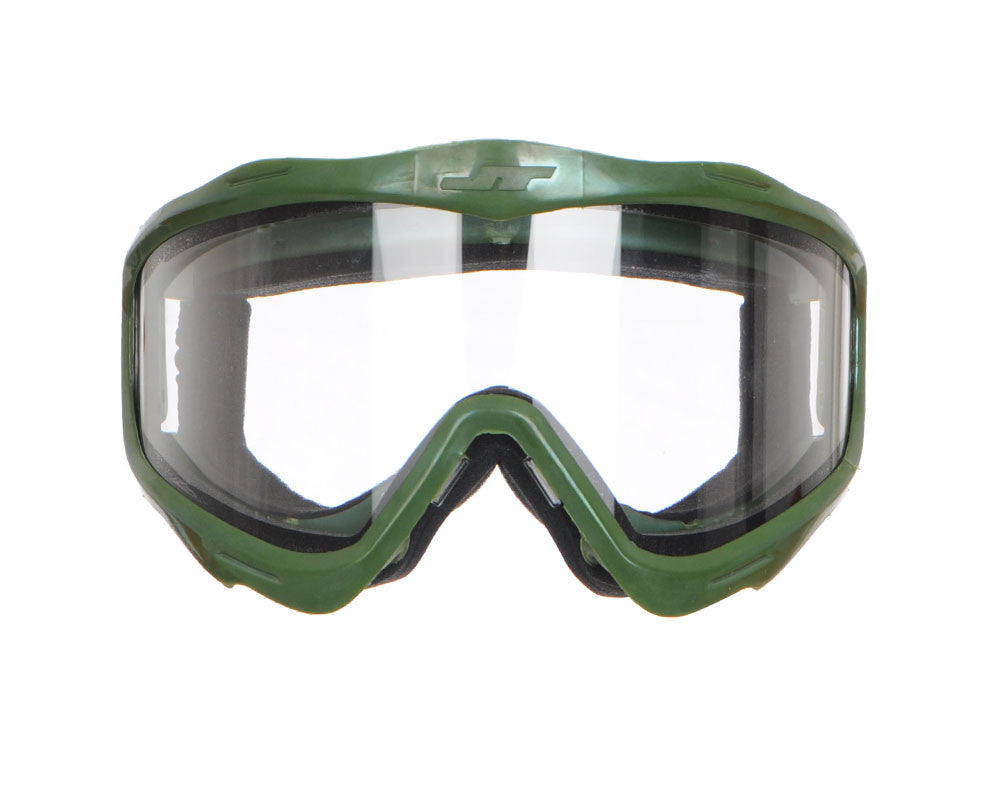 JT Goggle Mask Frame w/ Clear Lens - Olive