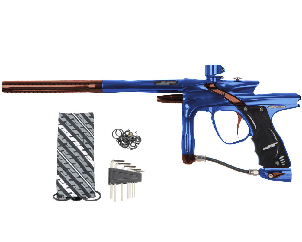 JT Impulse Paintball Gun - Blue/Brown