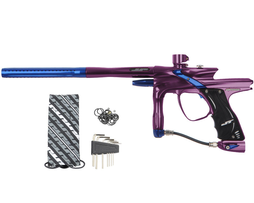 JT Impulse Paintball Gun - Eggplant/Blue
