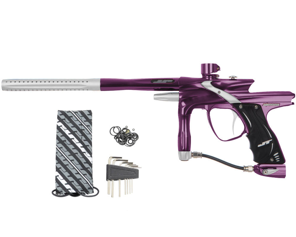 JT Impulse Paintball Gun - Eggplant/Dust Silver