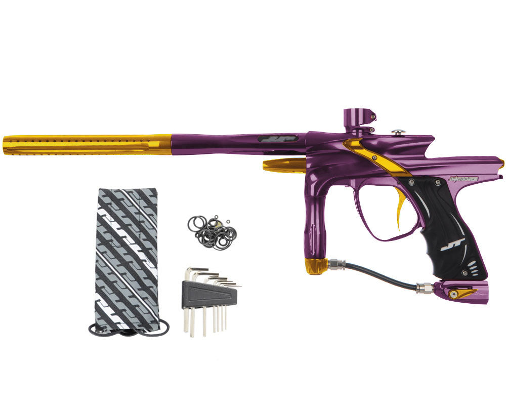JT Impulse Paintball Gun - Eggplant/Gold