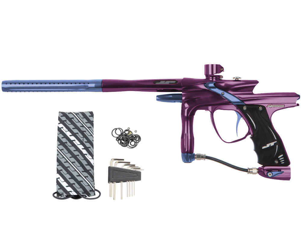 JT Impulse Paintball Gun - Eggplant/Gun Metal