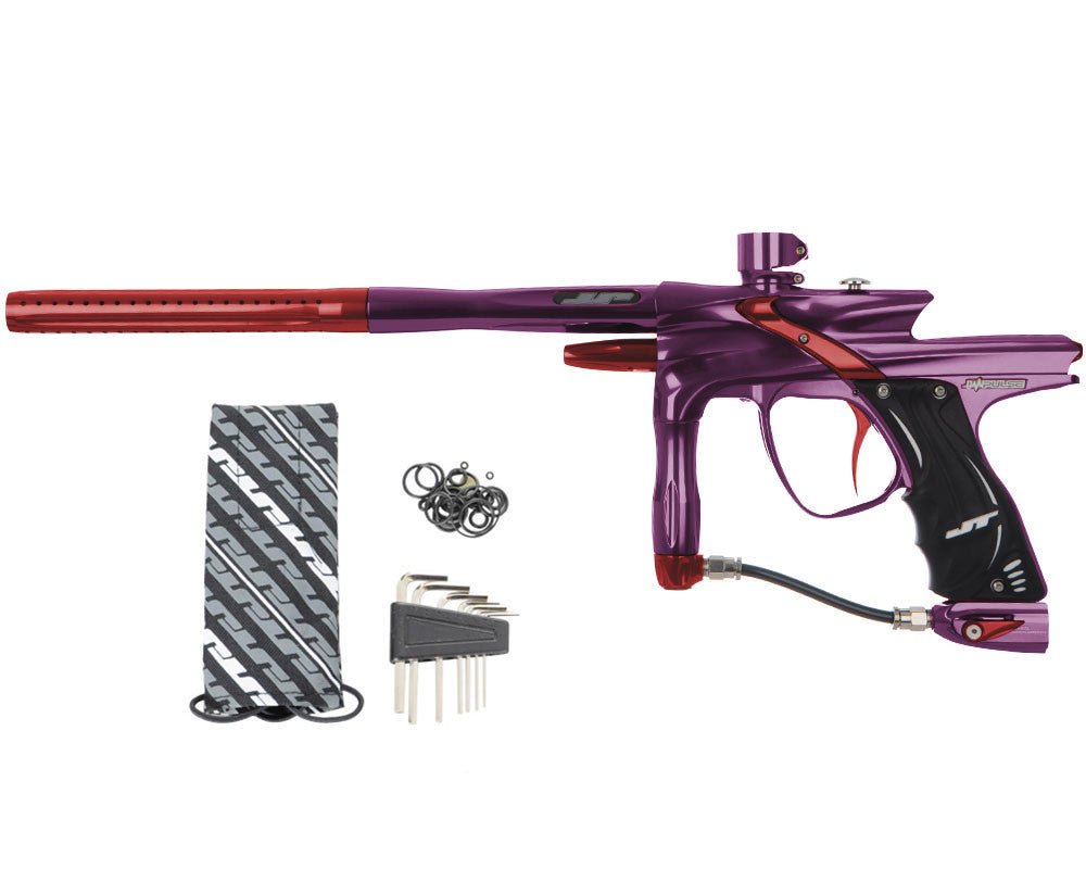 JT Impulse Paintball Gun - Eggplant/Red