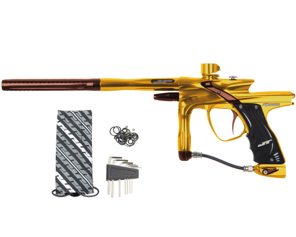 JT Impulse Paintball Gun - Gold/Brown