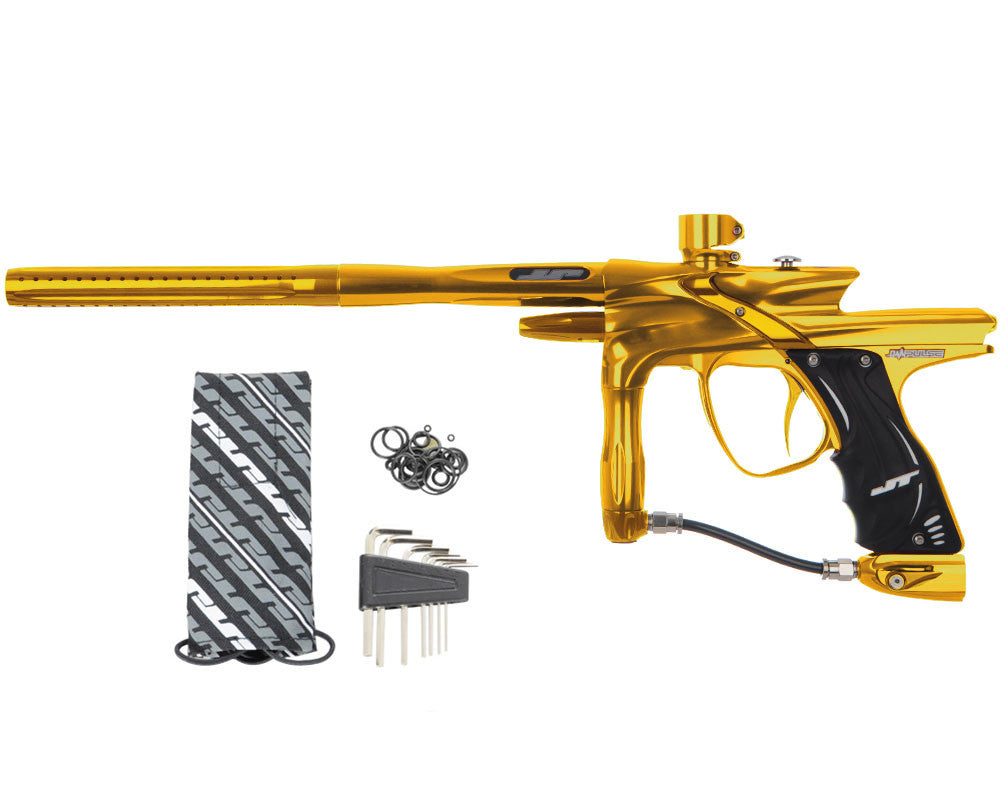 JT Impulse Paintball Gun - Gold/Gold