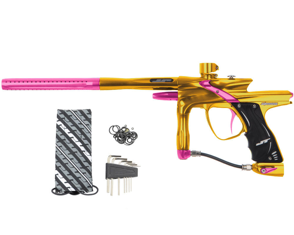 JT Impulse Paintball Gun - Gold/Pink