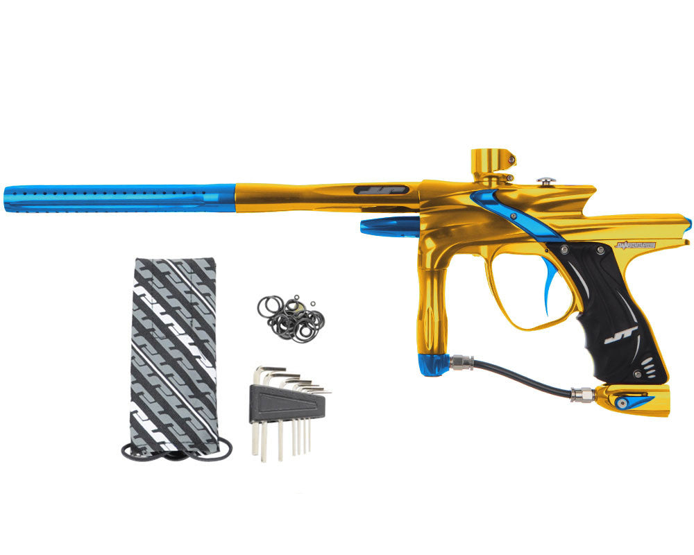 JT Impulse Paintball Gun - Gold/Teal