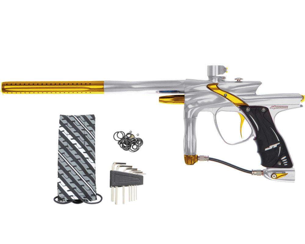 JT Impulse Paintball Gun - Grey/Gold