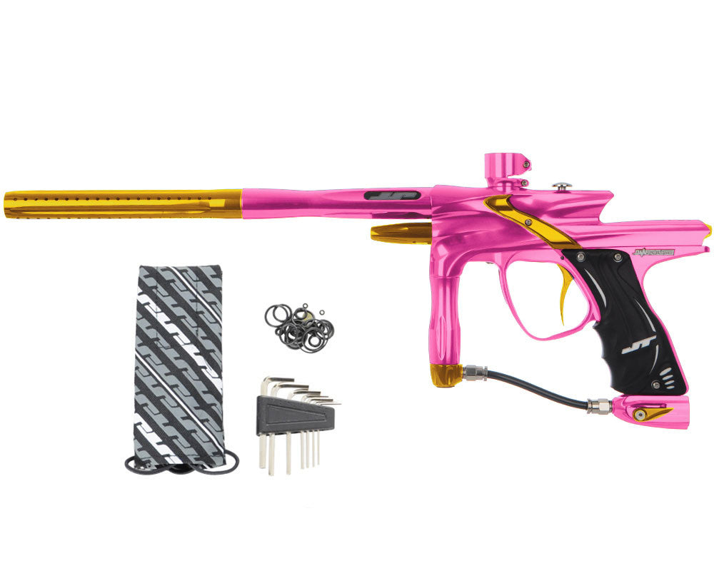 JT Impulse Paintball Gun - Pink/Gold