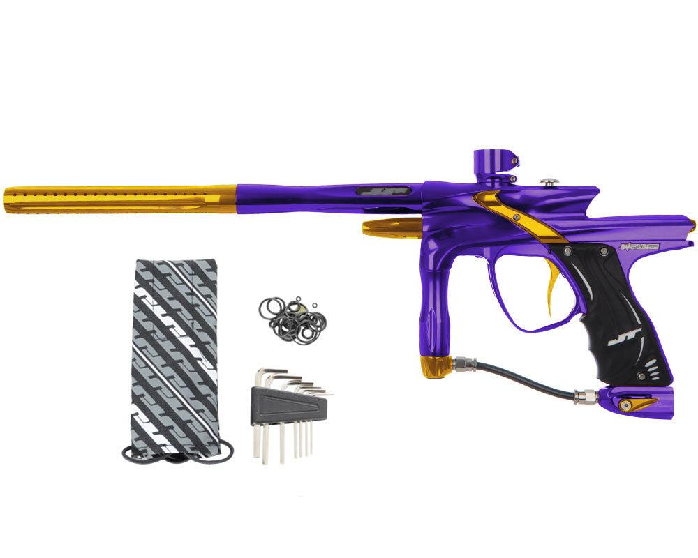 JT Impulse Paintball Gun - Purple/Gold