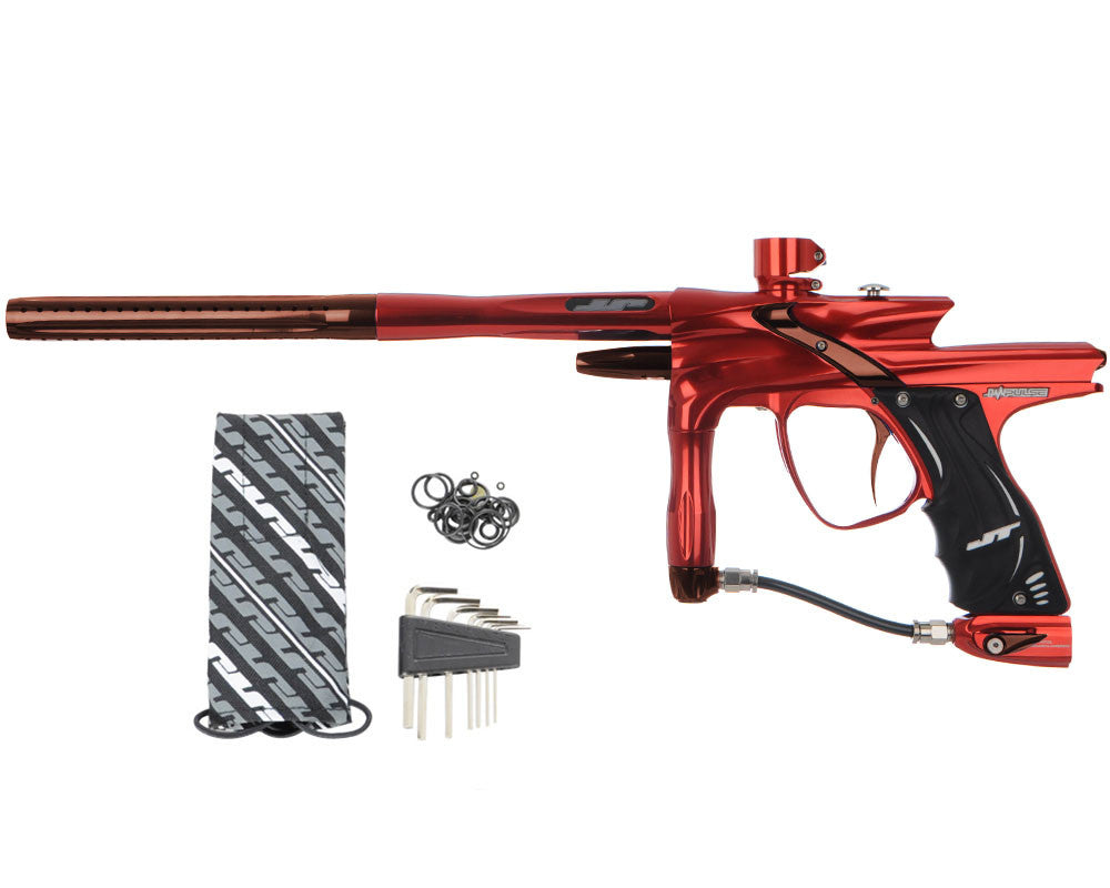 JT Impulse Paintball Gun - Red/Brown