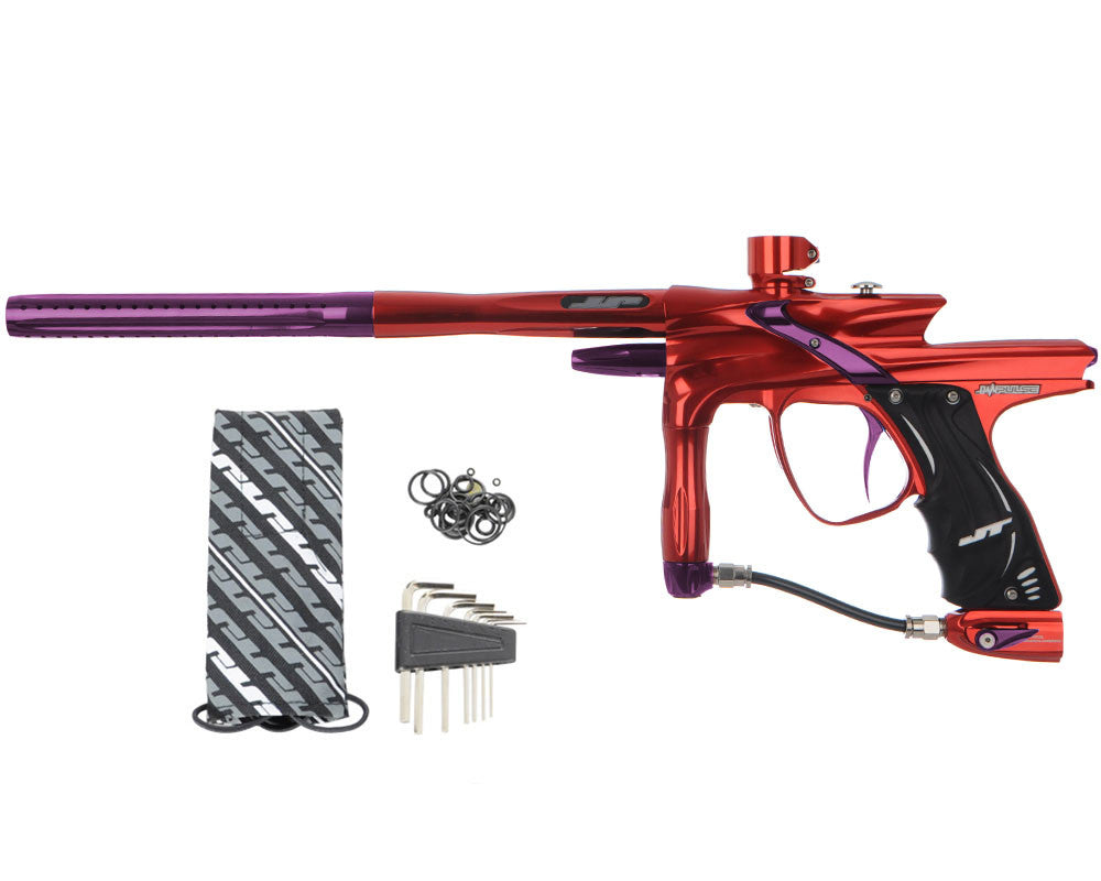 JT Impulse Paintball Gun - Red/Eggplant