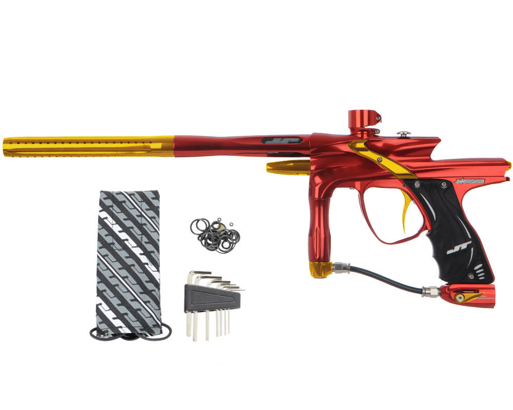 JT Impulse Paintball Gun - Red/Gold