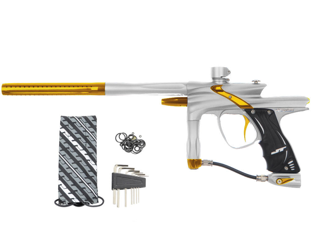 JT Impulse Paintball Gun - Dust Silver/Gold