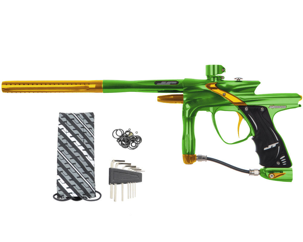 JT Impulse Paintball Gun - Slime/Gold