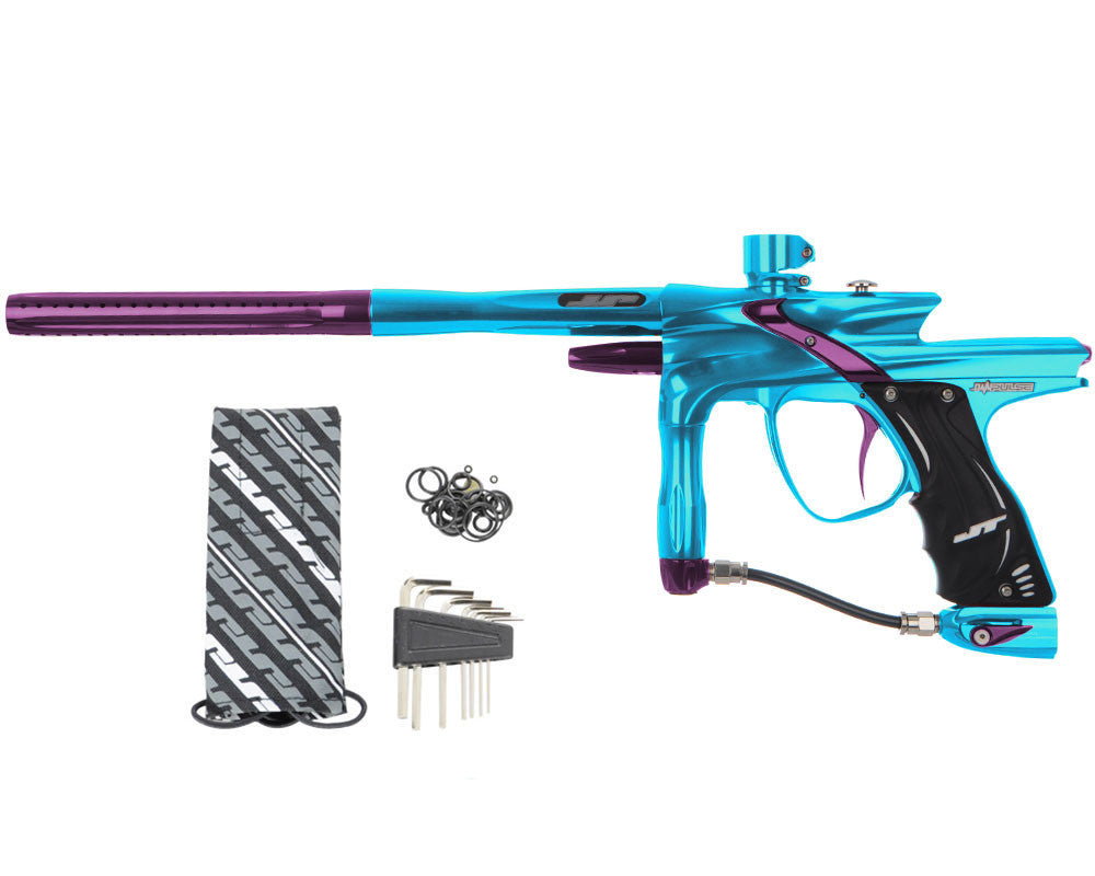 JT Impulse Paintball Gun - Teal/Eggplant