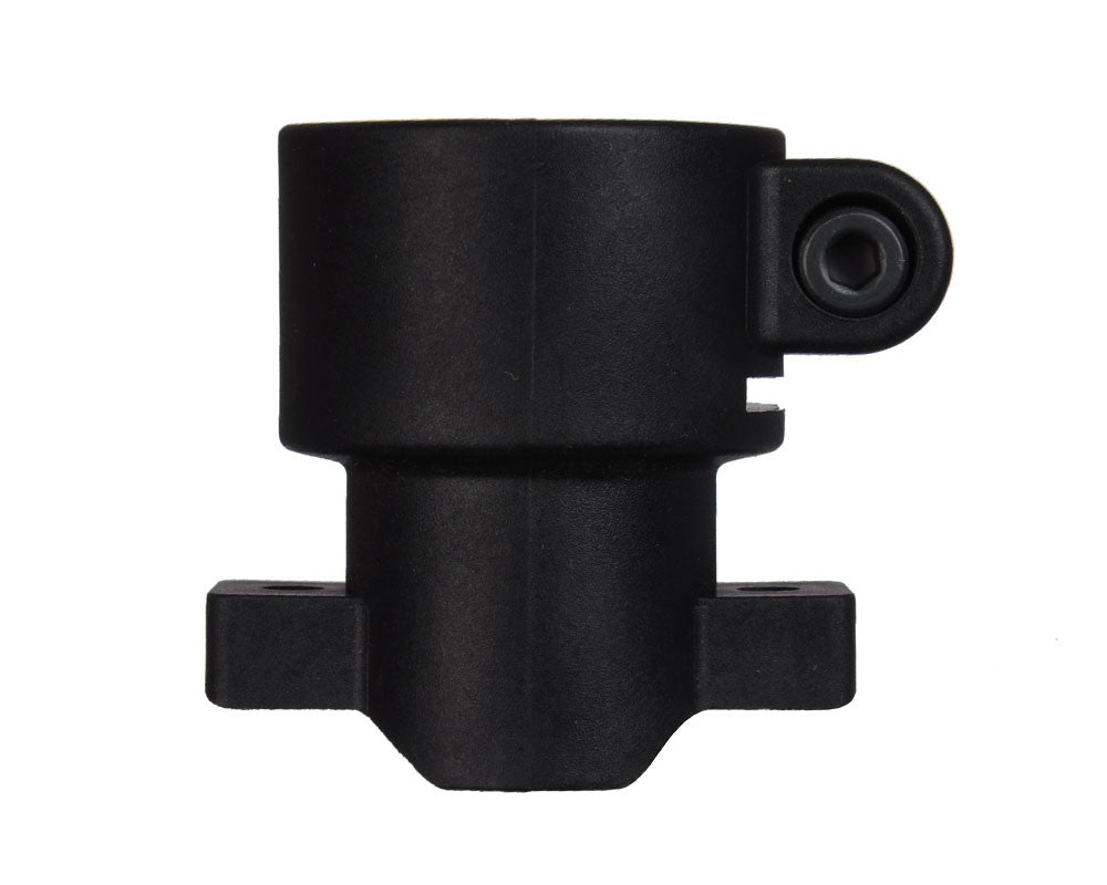 Kingman Spyder Polymer Vertical Clamping Feed Neck - Tabs - Black (FND080)