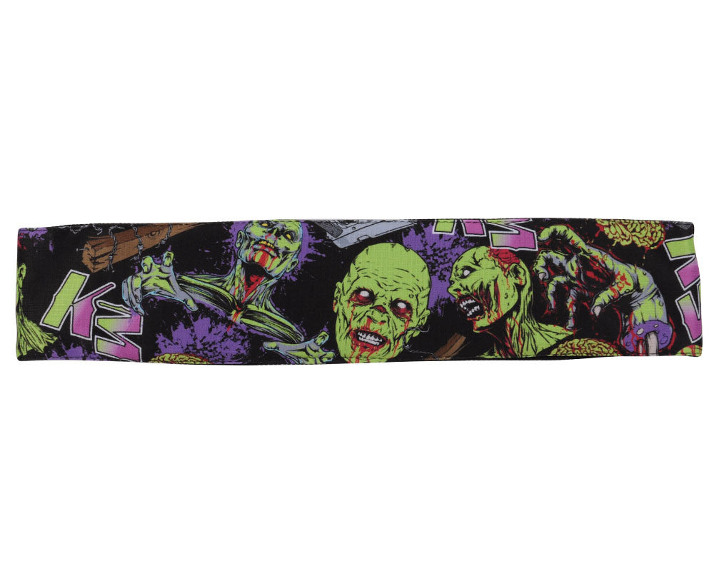 KM Paintball Headband - Zombie Slime/Purple