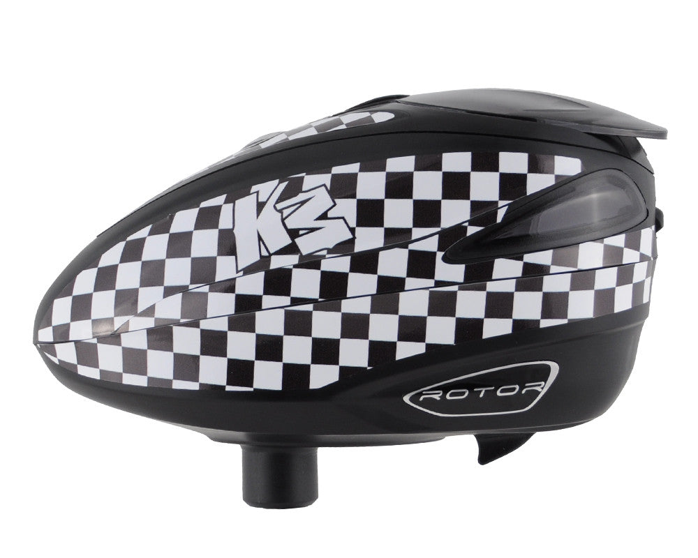 KM Rotor Loader Wrap - KM Checkers Black