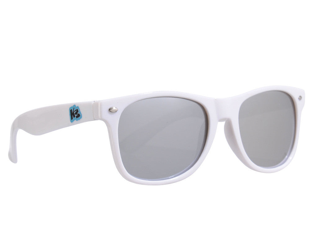 KM Paintball Sunglasses - White