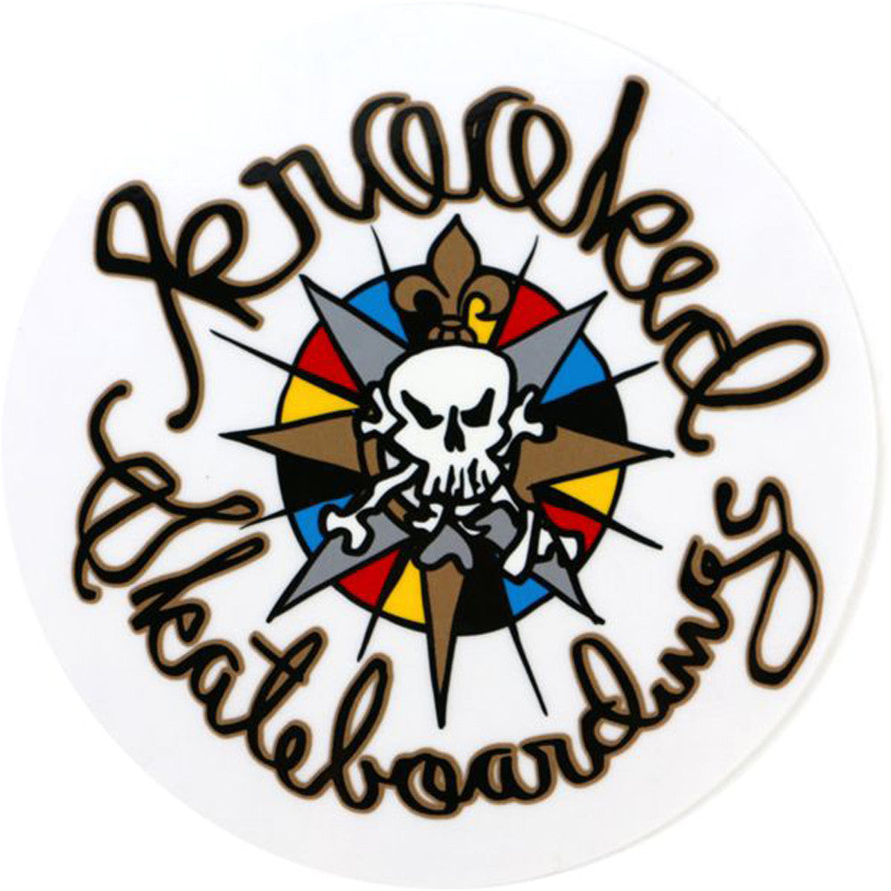 Krooked Kompass - Medium - Sticker