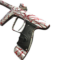 DLX Luxe Ice Paintball Marker - Limited Edition 3D White/Red