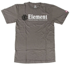 Element Horizontal T-Shirt - Grey - Mens T-Shirt