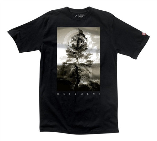 Element Conspiracy T-Shirt - Black - Mens T-Shirt